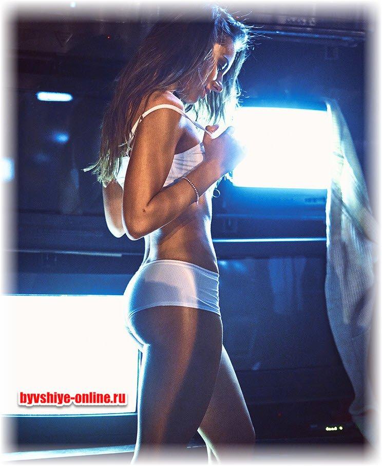 Аня Глаубе фото из журнала Максим