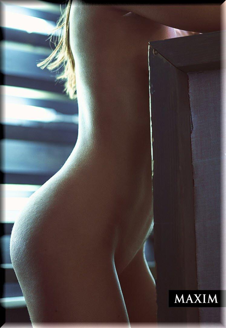 Полностью голая секретарша Оксана